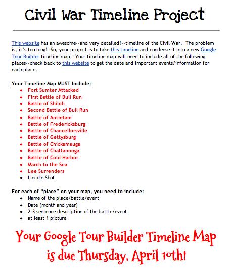 Mrs. Mooney's Teaching World: Google Tour Builder: Civil ...