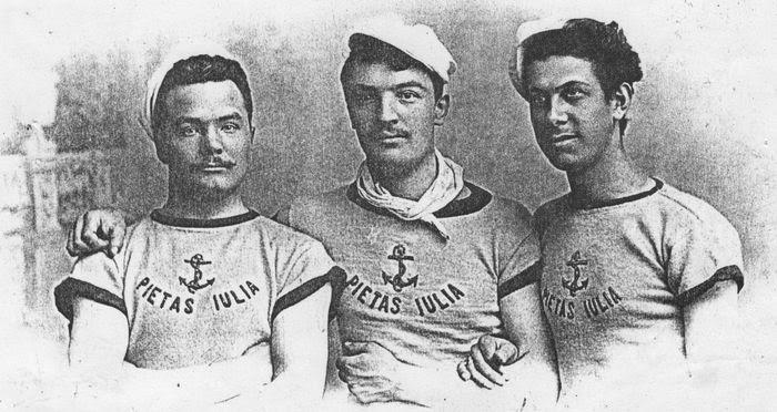 Canottieri d'estate e calciatori d'inverno. Società nautica Pietas Julia Trieste 1886. fotosportnotizie.com