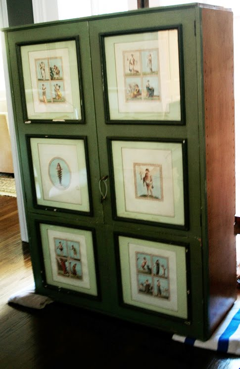 Before & After: China Cabinet