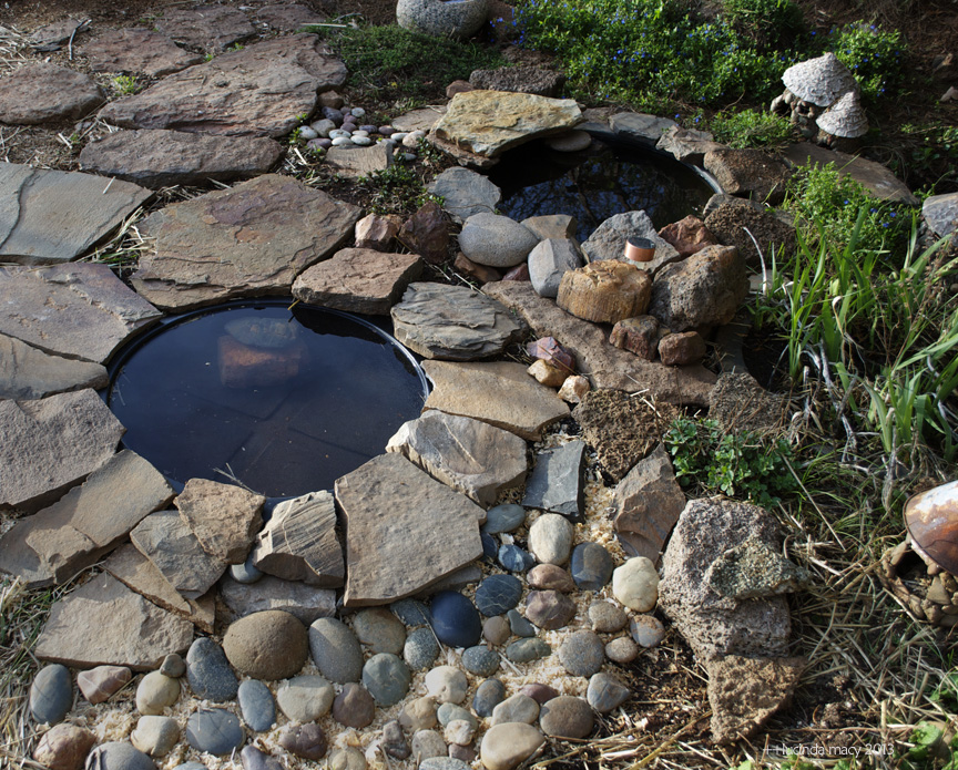 Willodel making a garden toad habitat tutorial for Making a small pond