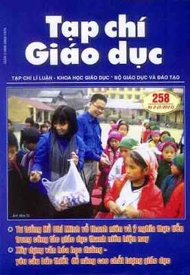 tap chi giao duc nam 2011, tap chi giao duc su pham