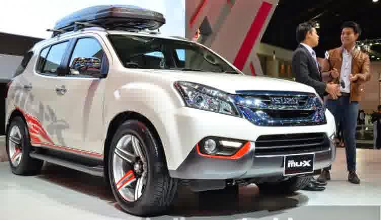 Model Terbaru SUV Isuzu MU-X