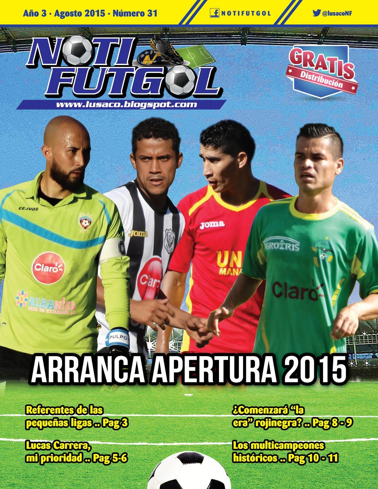 Boletín Nº 31: Agosto 2015