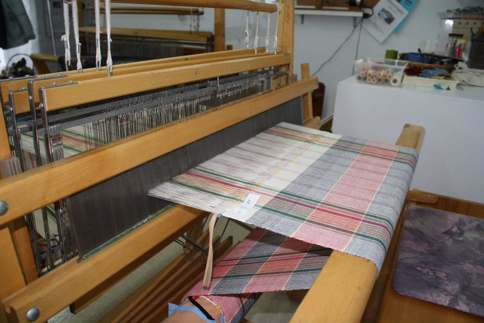 cercle de fermi res st lambert de lauzon local de tissage On métier artisanat modification textile