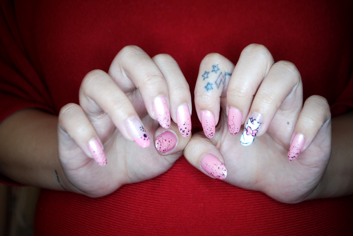 My Darling Rainbow: Disney\'s Aristocats, Marie Nails