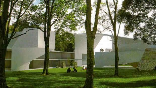 Nuevo Edificio Posgrados Ciencias Económicas y Derecho Campus UNAL Sede Bogotá