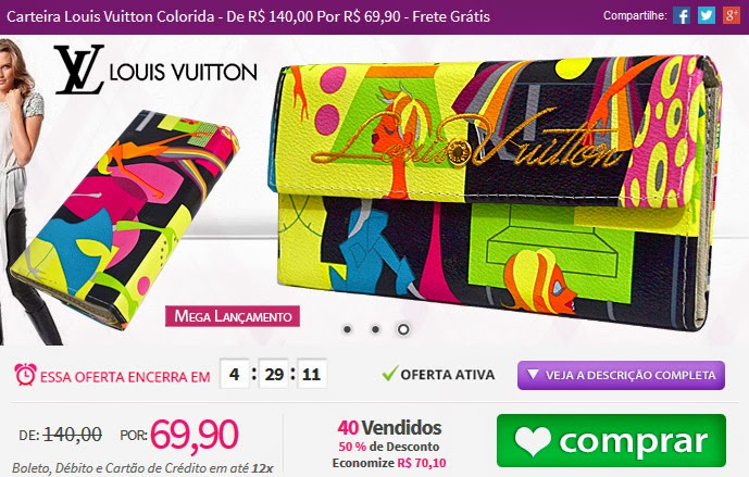 http://www.tpmdeofertas.com.br/Oferta-Carteira-Louis-Vuitton-Colorida---De-R-14000-Por-R-6990---Frete-Gratis-823.aspx