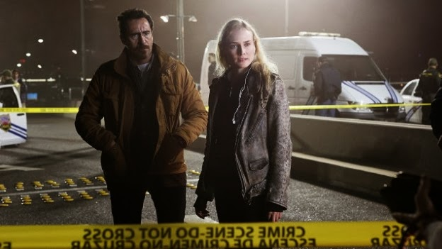 Los protagonistas de la serie The Bridge