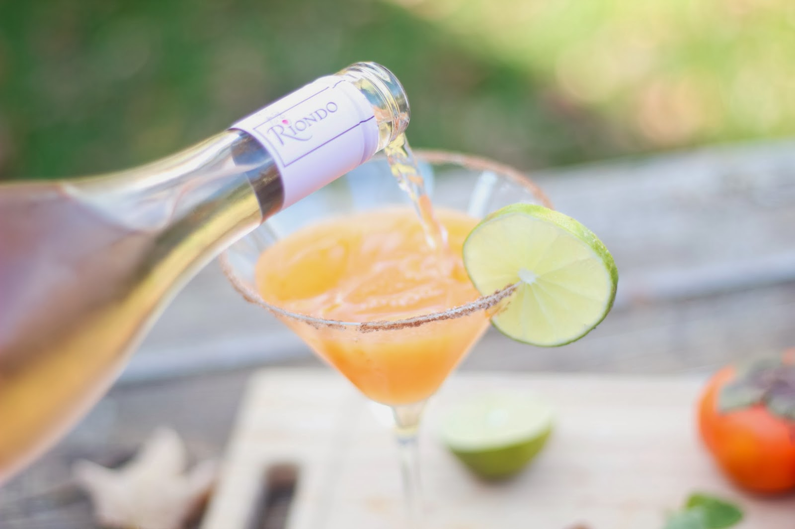 Intrinsic Beauty : Cocktail Hour: Sparkling Persimmon ...