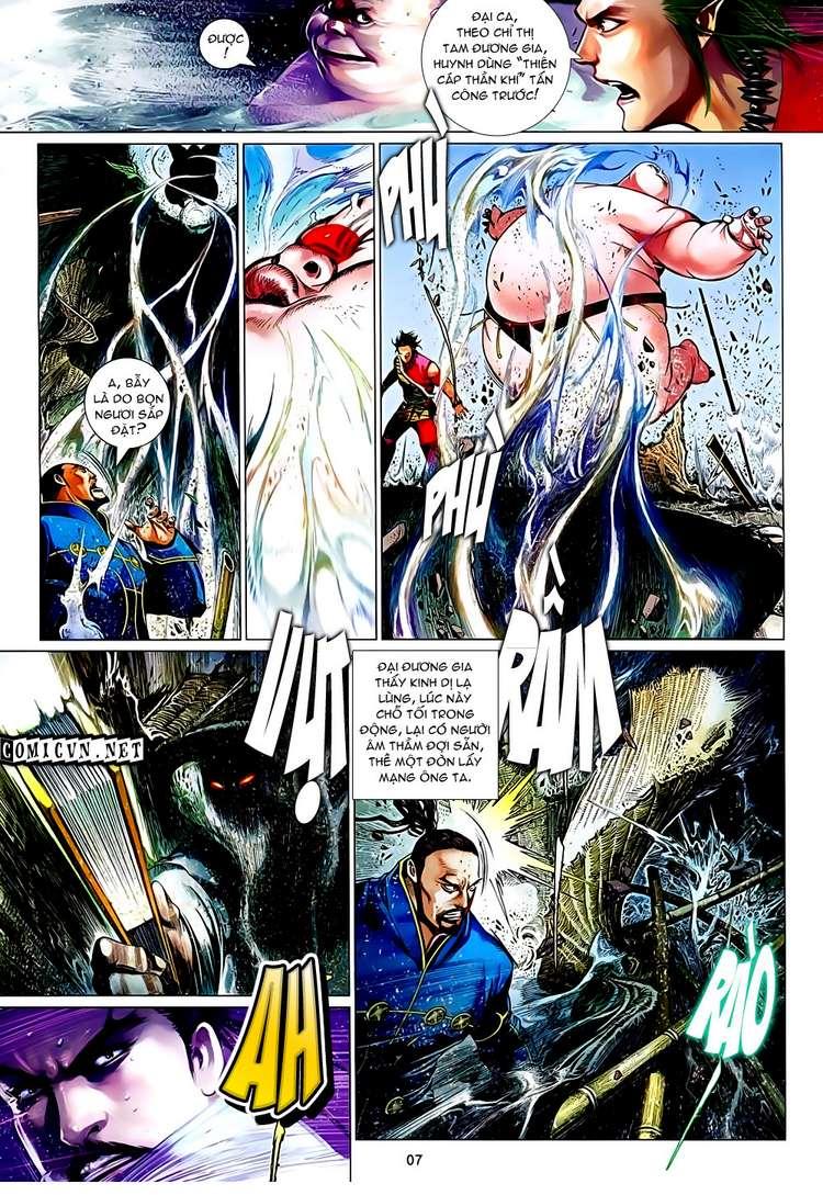 Phong Vân chap 632 Trang 7 - Mangak.info