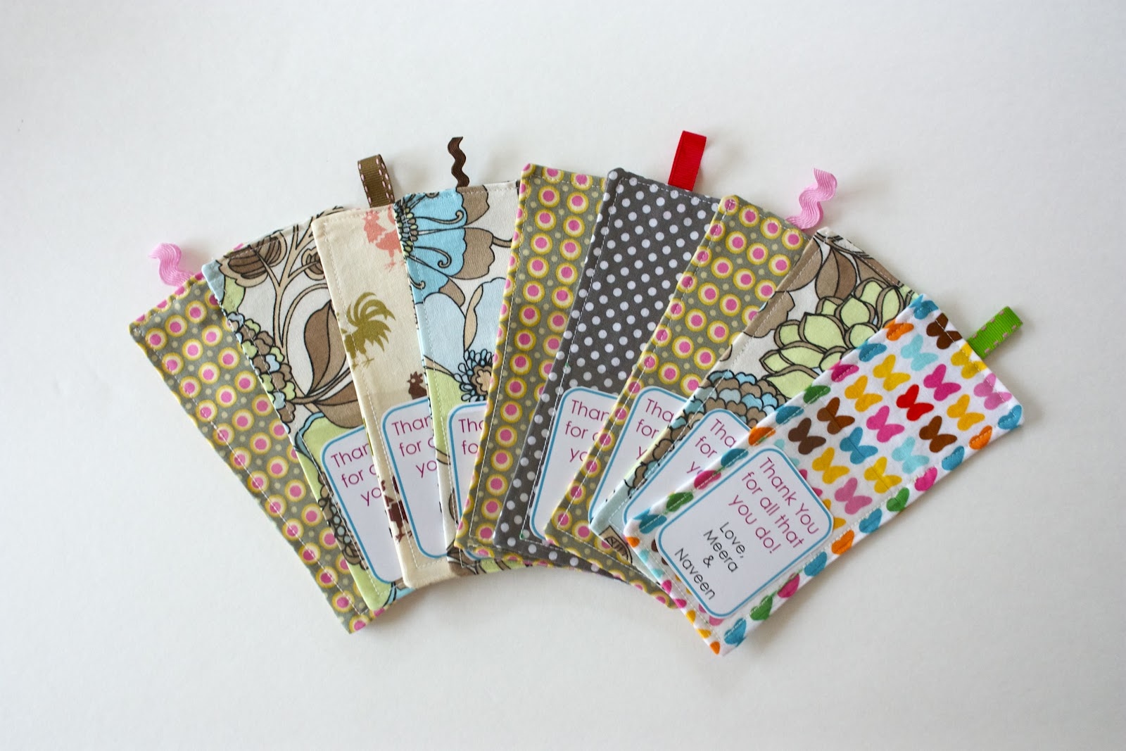 Zaaberry tutorial fabric bookmark with pocket for Fabric supply