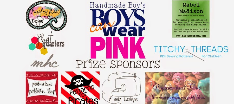 Boys Can Wear Pink Giveaway: The Berry Bunch