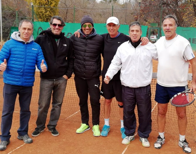 ANDINO CAMPEON INTERCLUBES SENIORS +55 LIBRE