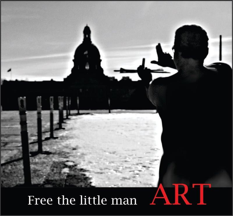 Free The Little Man - Art