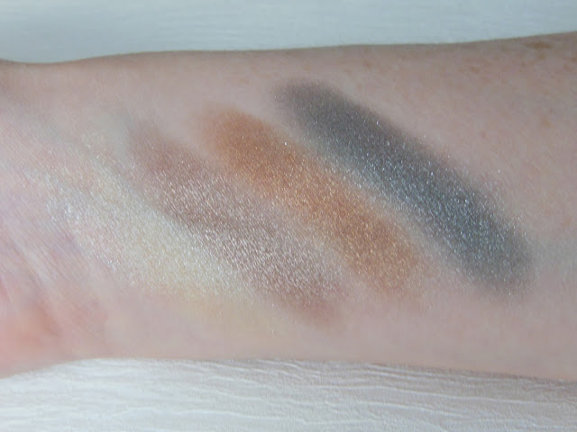 Illamasqua sacred hour Reflection palette swatches