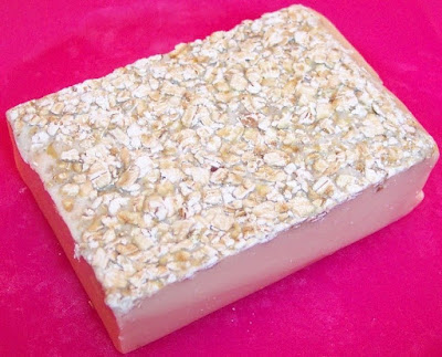 How to make oatmeal for shower SOAP bags
