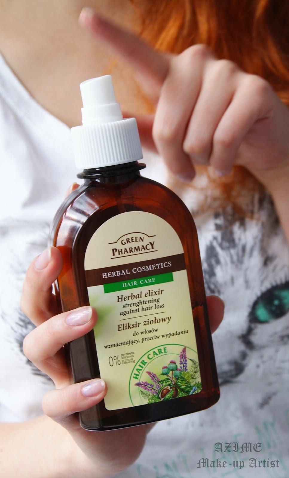[101]. Eliksir ziołowy Green Pharmacy- wzmacniający, przeciw wypadaniu.