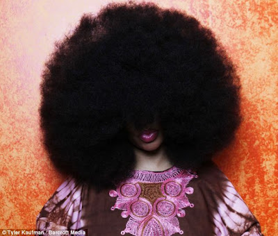 Woman's 4 and a Half-Foot Afro is the World's Largest Afro