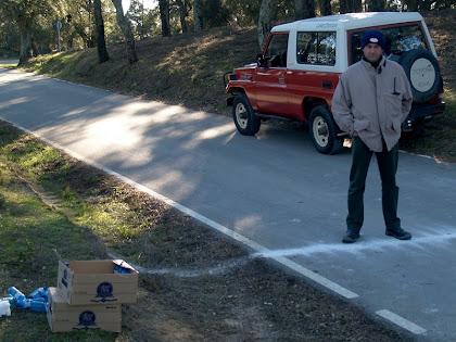 Control de pas a prop de Cal Ferrer Pagès