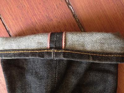 джинс строчка