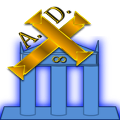 Logo del sitio web Athemas AD, blog temático enfocado en historia y cultura general.