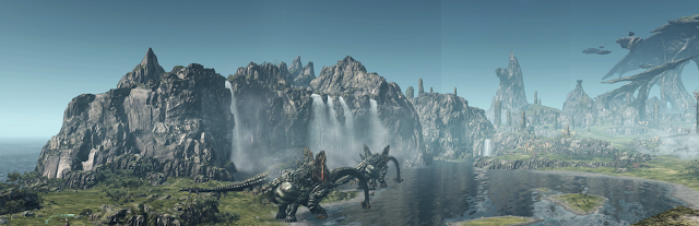 Xenoblade Chronicles X Planet Mira Video Game Screenshot