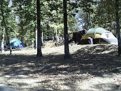 Camping on Iron Mountain