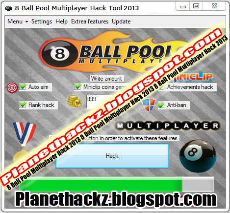 ball pool hack will make you one of the best and top active 8 ball