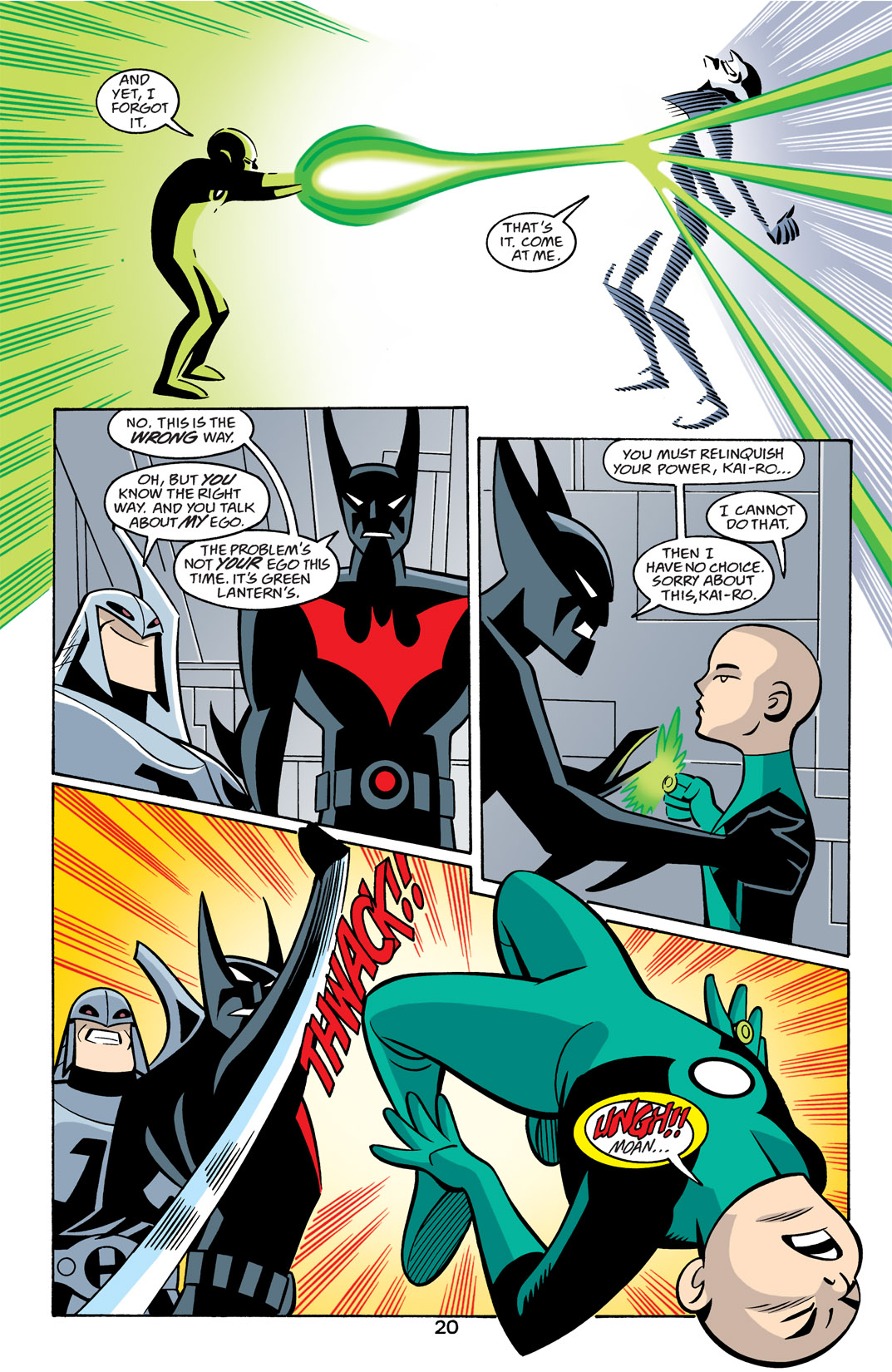 Batman Beyond [II] Issue #22 #22 - English 21