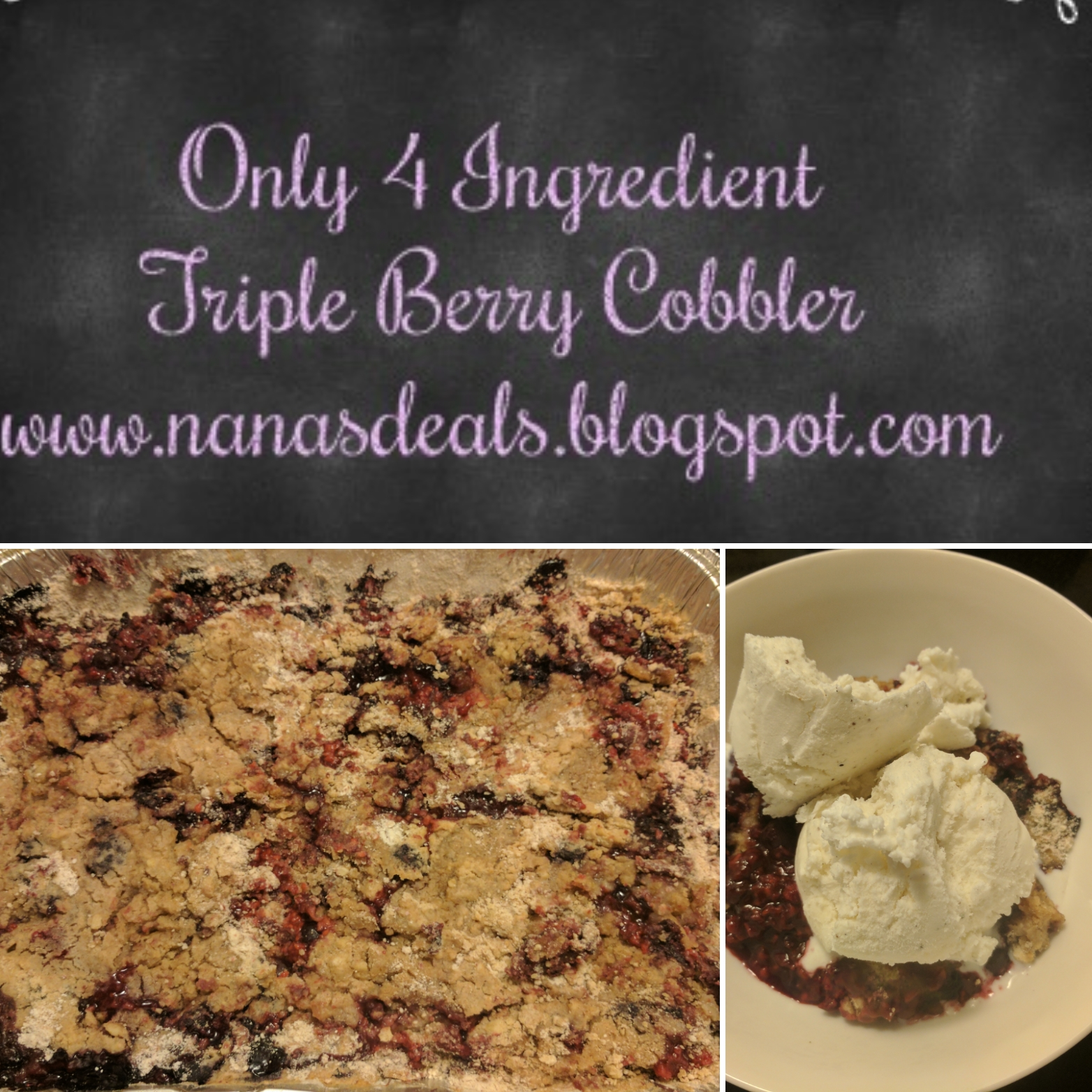 Grab My Incredibly  Easy to follow recipe using ONLY 4 Ingredients