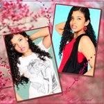 montagem com 2 fotos Sakura