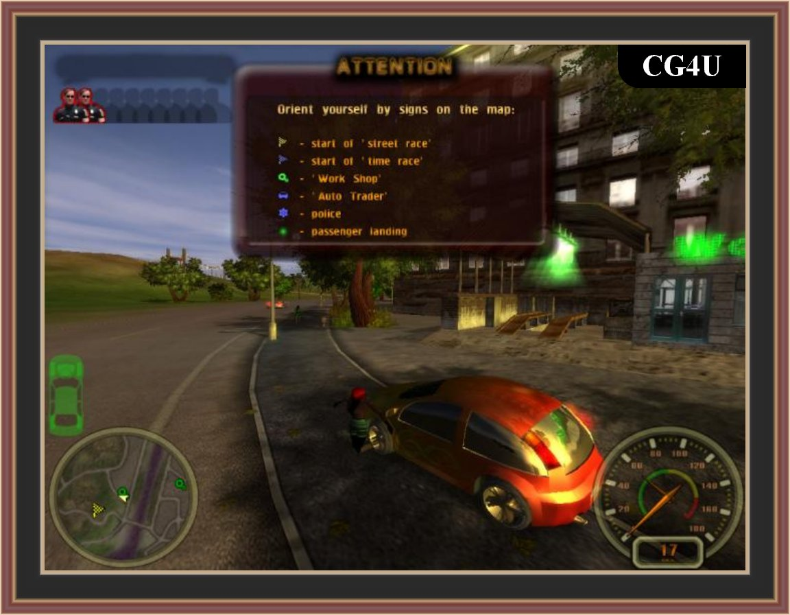 City Racer Game Screenshot