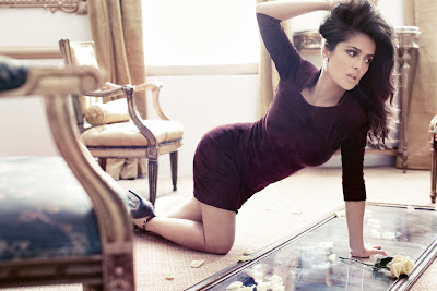 Salma Hayek Vogue Germany September 2012 Photoshoot - Beautiful Female Photos