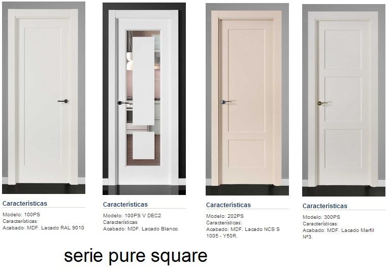 Made of wood puertas lacadas en blanco los nuevos - Puertas lacadas en blanco roto ...
