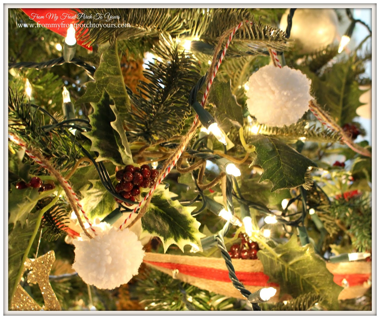 From My Front Porch To Yours: Our Farmhouse Christmas Tree 2015- The ...