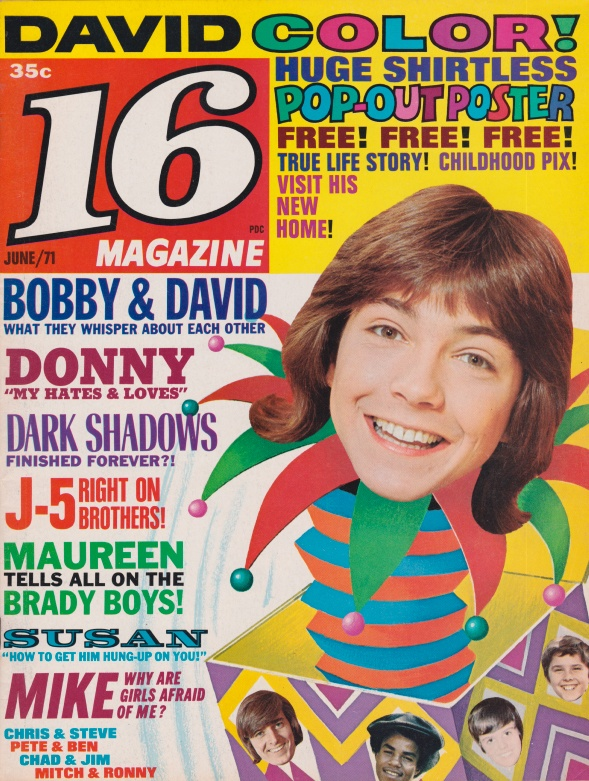 the history content and issues of teen magazines To study this, she took roughly 200 boys and 200 girls in high school and college, looked at their body masses, and asked them about their magazine reading habits.
