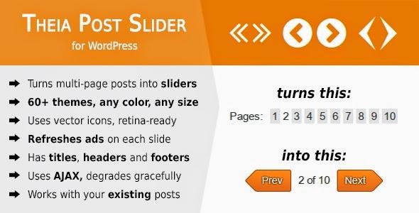 Theia Post Slider - WordPress Plugin