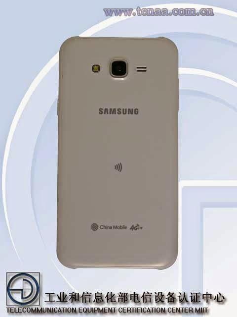 Android version 5.0.2, Android, Camera,  Galaxy J7, samsung, Random memory, Marvel PXA1936, processor, battery, internal memory, quad-core, snapdragon 410  processor, snapdragon 410, Chinese site organization TENAA, TENAA, Samsung Galaxy J7, Galaxy J7, leaked photo,