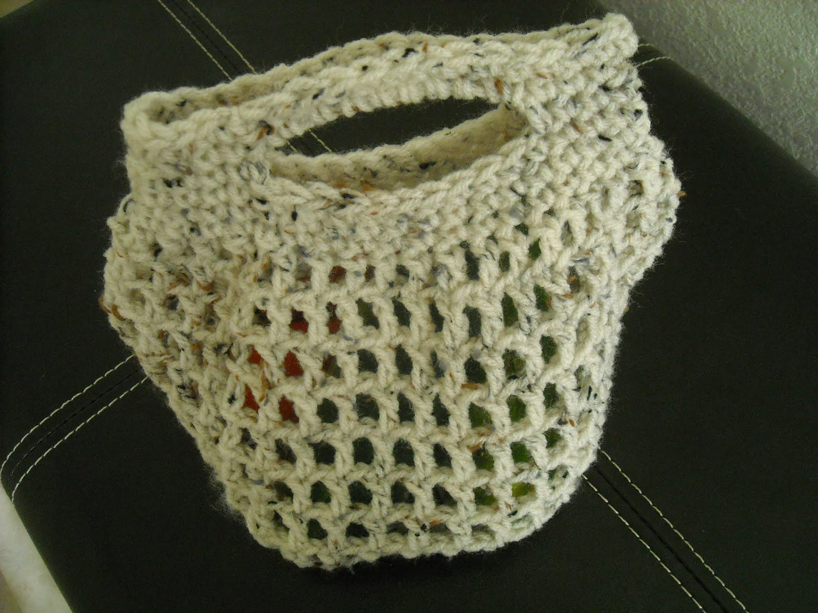 A Crafty Cook: Crochet Bag w/ Removable Shoulder Strap ...