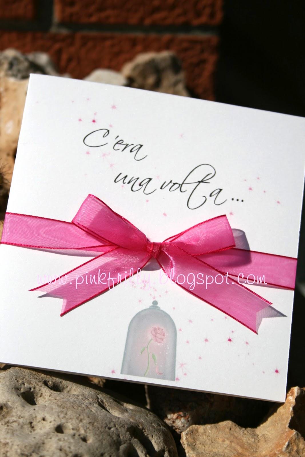 Matrimonio Tema Fucsia : Pink frilly partecipazioni in fucsia da favola