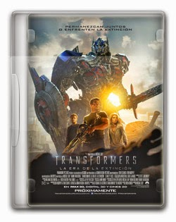Transformers: A Era da Extinção BDRip AVI Dual Áudio + RMVB Dublado
