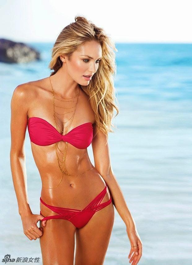 Angel Supermodel Bikini Themed MV Shooting Swimwear Show Hot Body