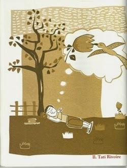 Ilustração de Tati Rivoire para o poema Beija-Flor