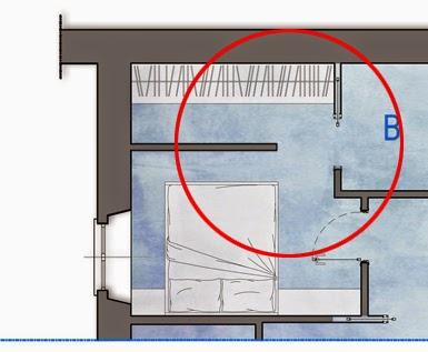 Alessio carrabino architetto una cabina armadio nella camera matrimoniale - Armadio dietro letto matrimoniale ...