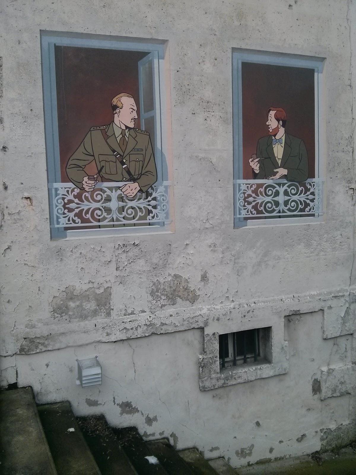 fresque mur