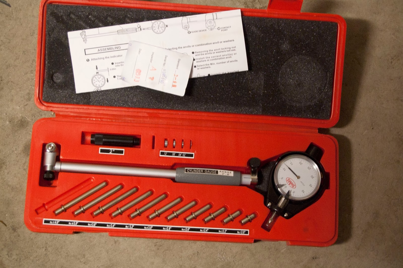 Harbor Freight Dial Indicator : Lexi laron project dc engine builds for dummies part