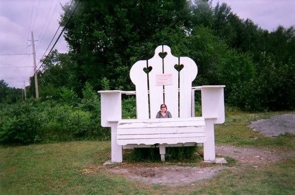 World's biggest muskoka Chair
