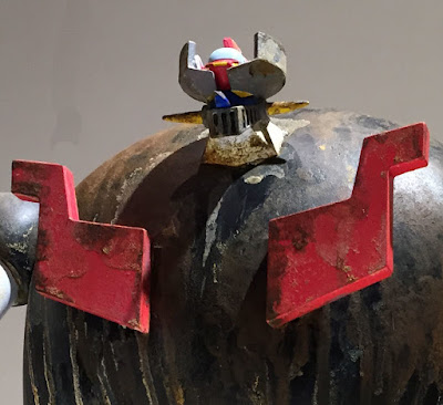 """Distressed"" Mazinger Z Special Edition Hand Painted Vinyl Figure by Eric So x Unbox Industries"
