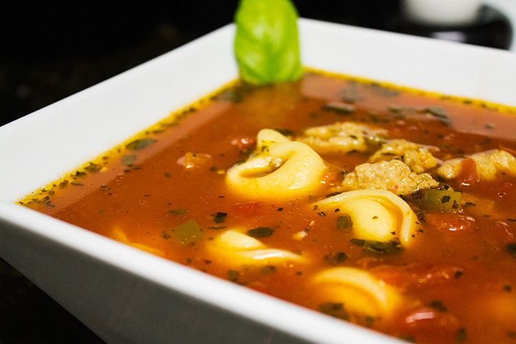 Cake & Coke: Sausage and Tortellini Soup