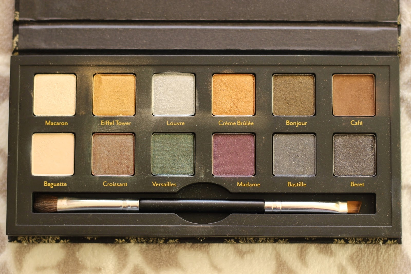 Cargo Cosmetics Let's Meet In Paris Eyeshadow Palette Review